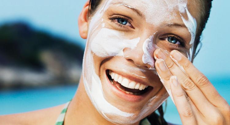 Protetor solar para o rosto