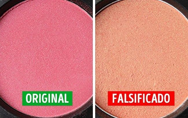 cosméticos falsos